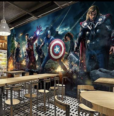 Impression murale grand mur BF Impressions Murales